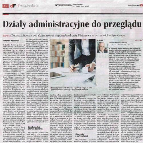 Działy administracyjne doprzeglądu